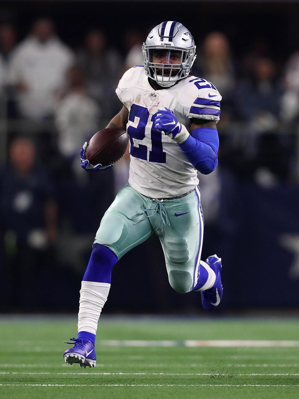Dallas Cowboy's Ezekiel Elliott
