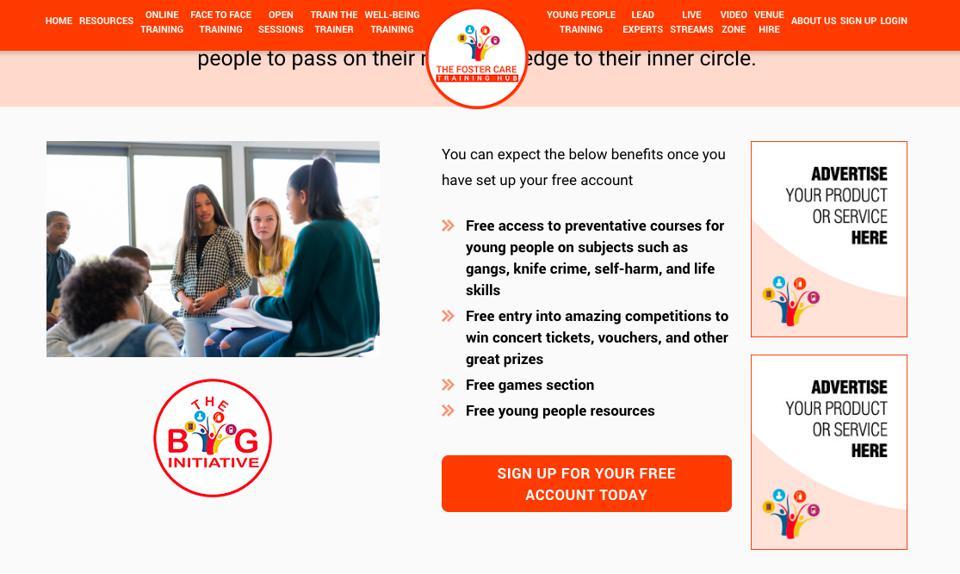 free online training courses for foster carers