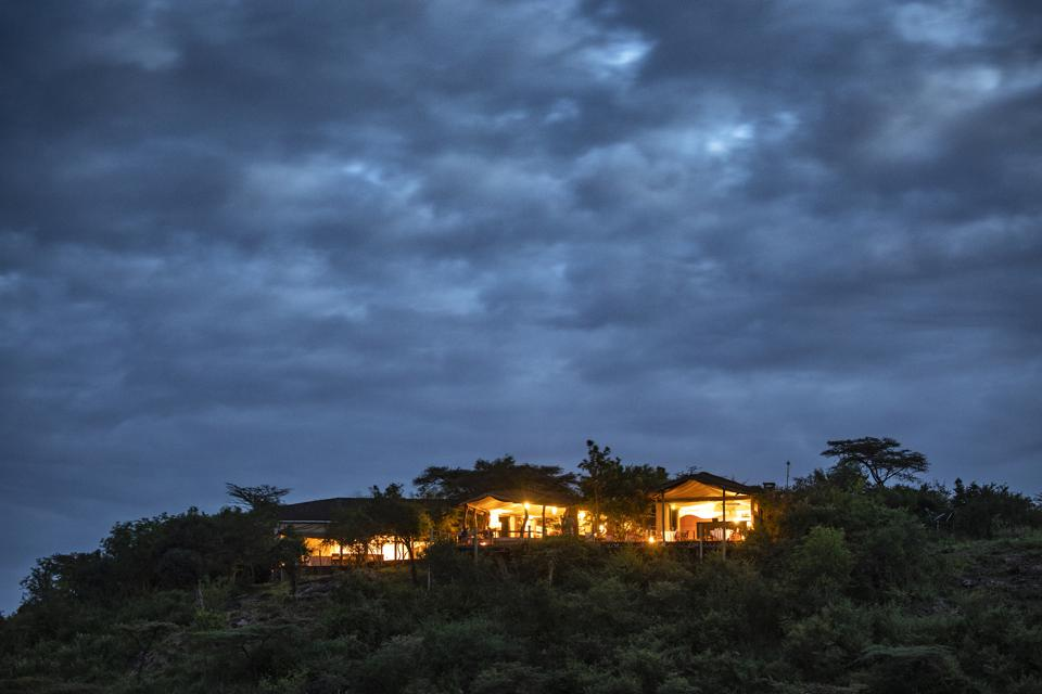 Eagle View: Basecamp Explorer's Hilltop Lodge In The Masai Mara