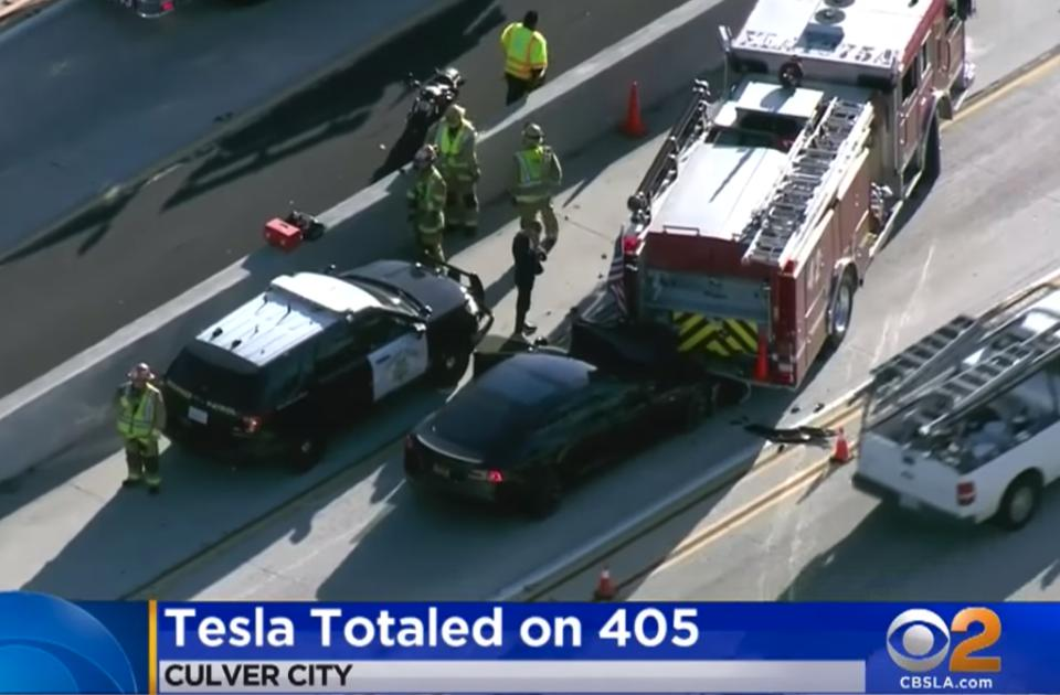 NTSB Finds Tesla's Autopilot Failed In 2018 Crash With Fire