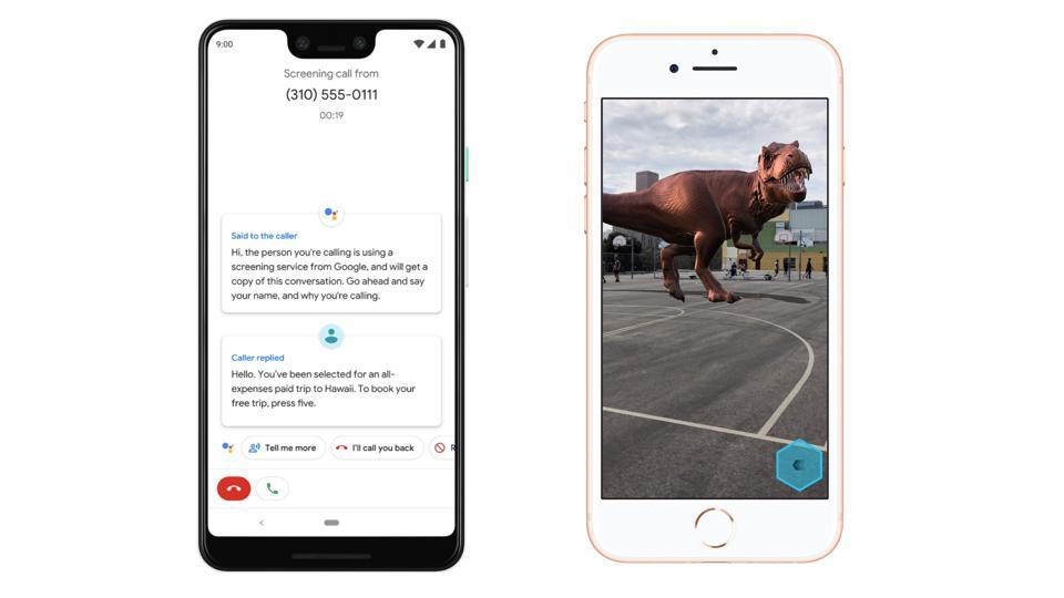 Google Pixel 3 vs. Apple iPhone 8