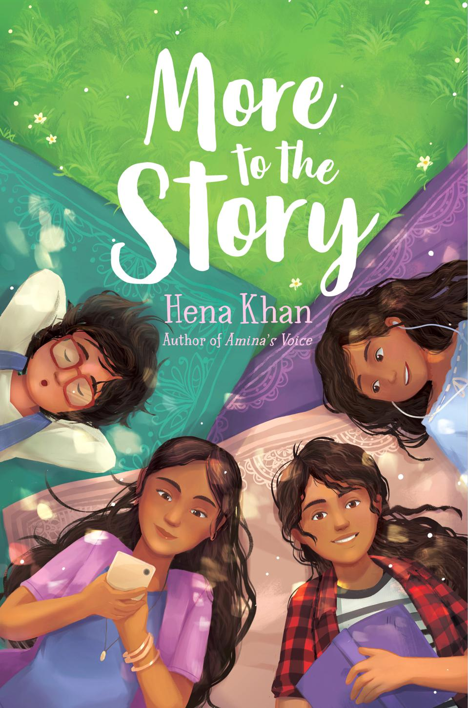 more to the story hena khan children's book