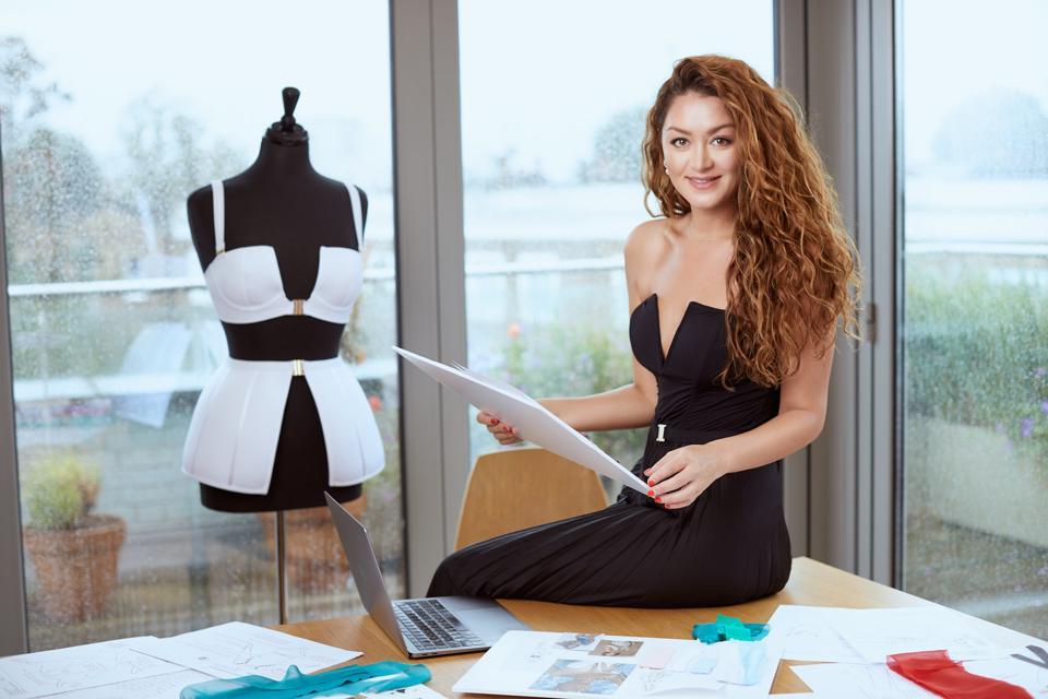 Sama Danesh in her design studio