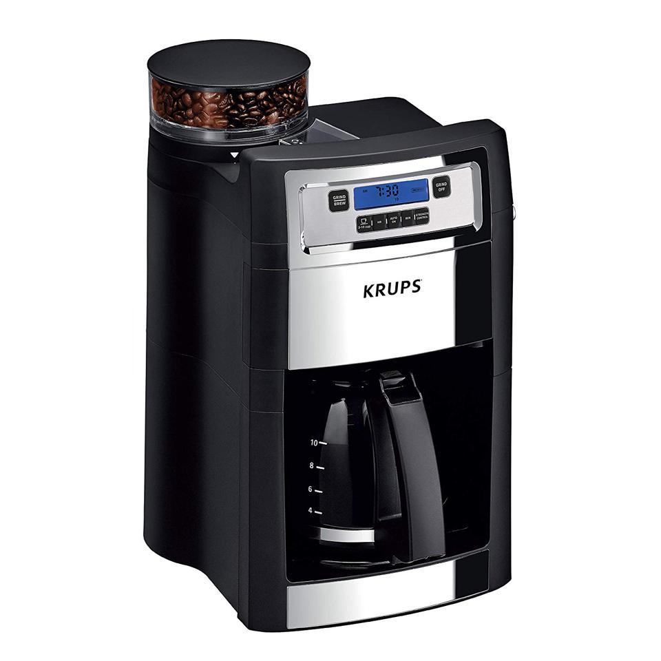 KRUPS Grind and Brew Auto-start Coffee Maker