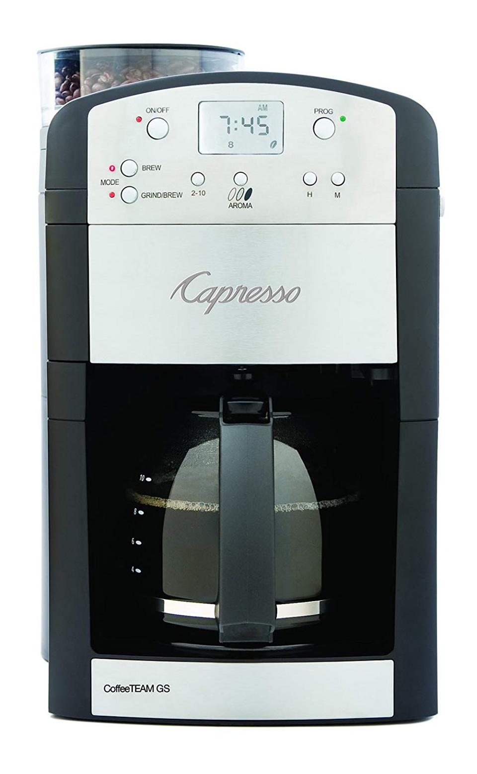 Capresso CoffeeTeam GS 10-Cup Digital Coffee Maker