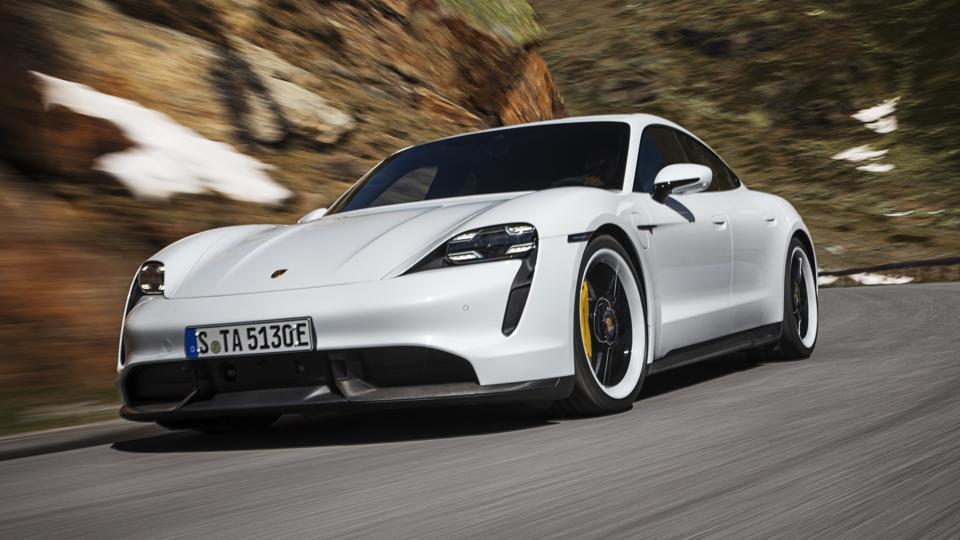 Porsche's Taycan Turbo S.