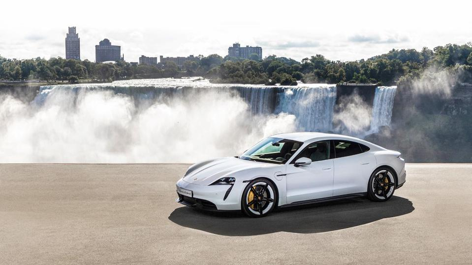 Porsche's Taycan, an all-electric threat to Tesla