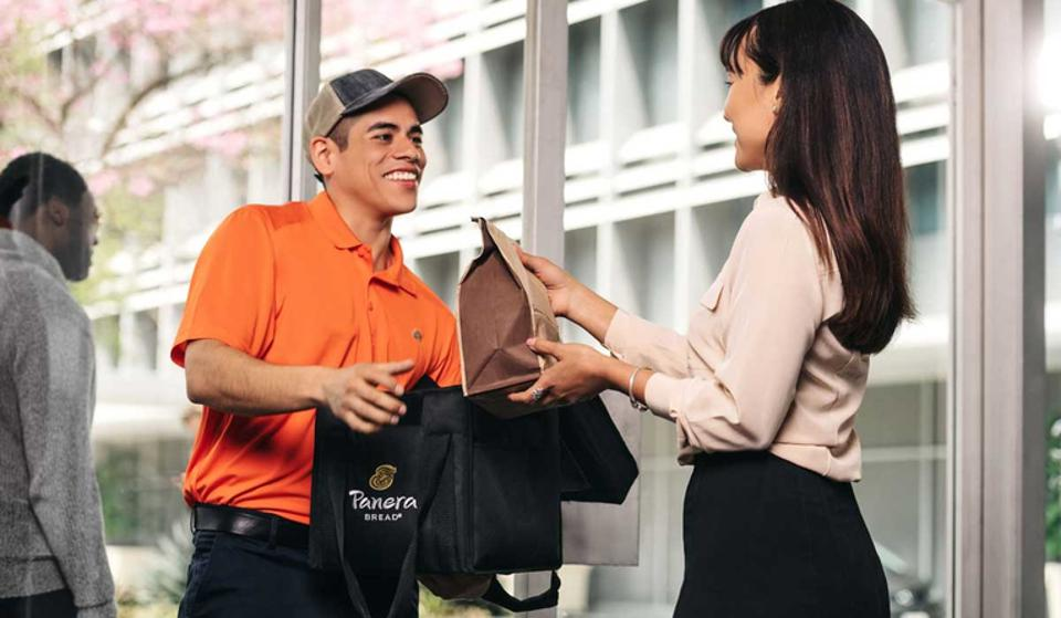 Panera expands delivery through third-party partners.