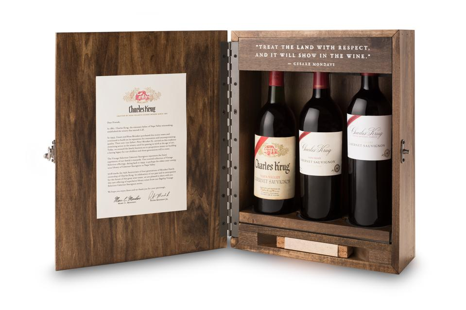 Charles Krug Library Wines