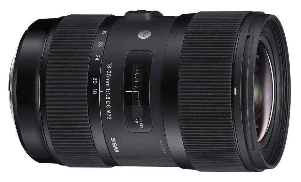 Sigma's 18-35mm