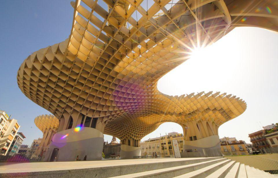 Seville's Metropol Parasol, photo by me using a Sigma 8-16mm