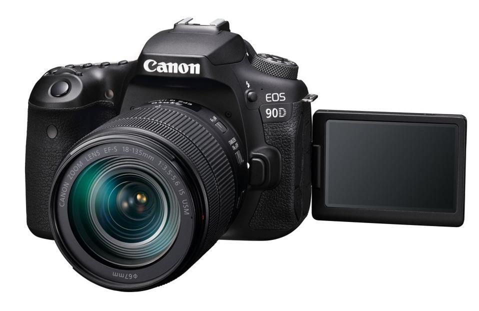 Canon 90D pivot screen