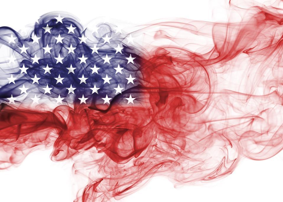 United States flag (conceptual)