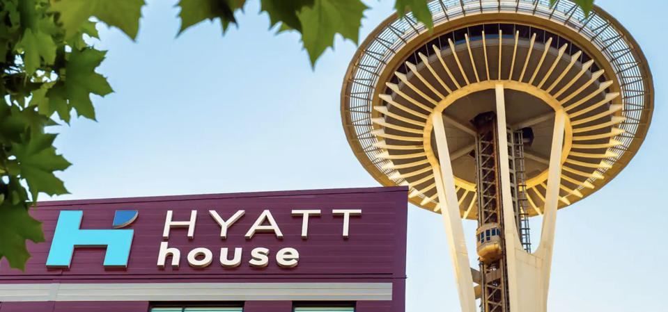 Hyatt House Seattle and Space Needle