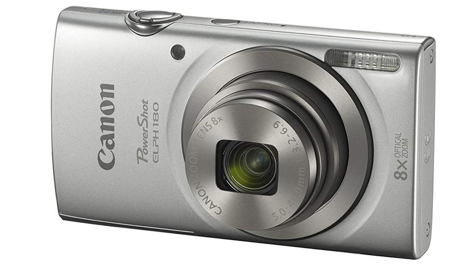 The Canon Powershot Elph 180 is sleek, small and stylish.