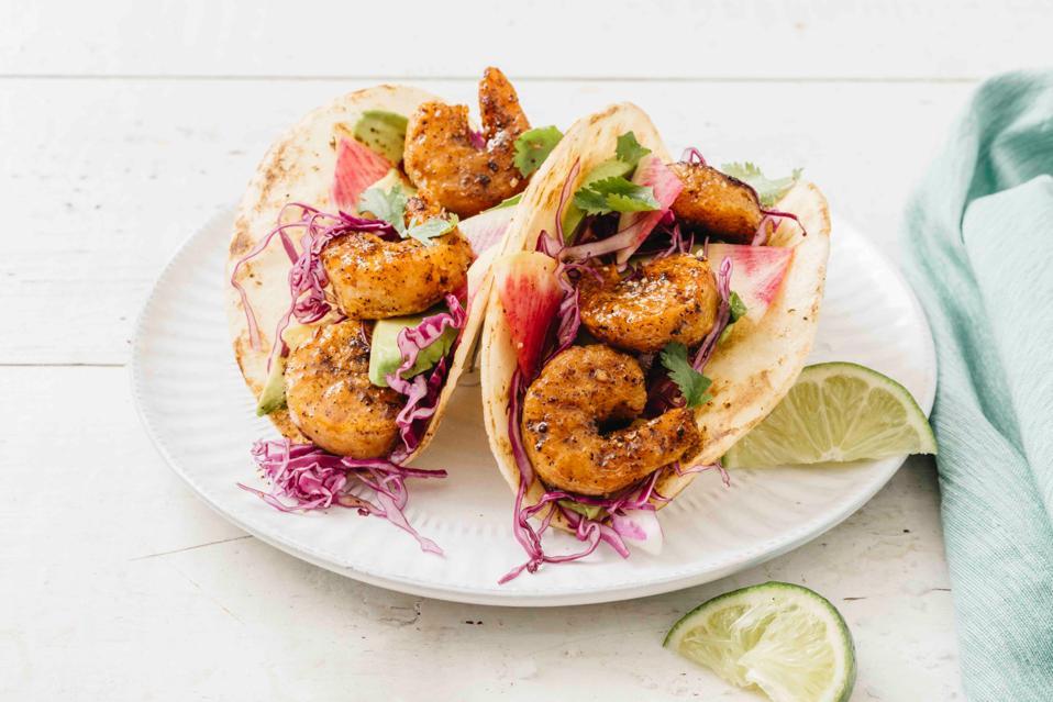 New Wave Shrimp in Taco