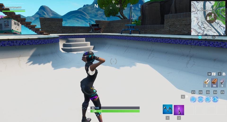 Fortnite Above Ground Pool Location Where To Dance In A