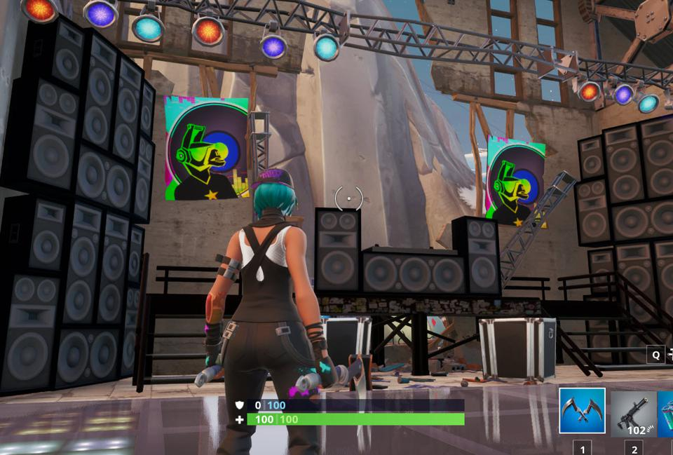 Fortnite' DJ Booth Location: Where To Dance Behind The DJ