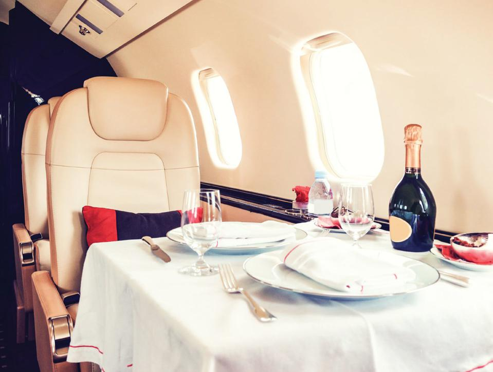 Air Partner Aviation offers a variety of catering options.