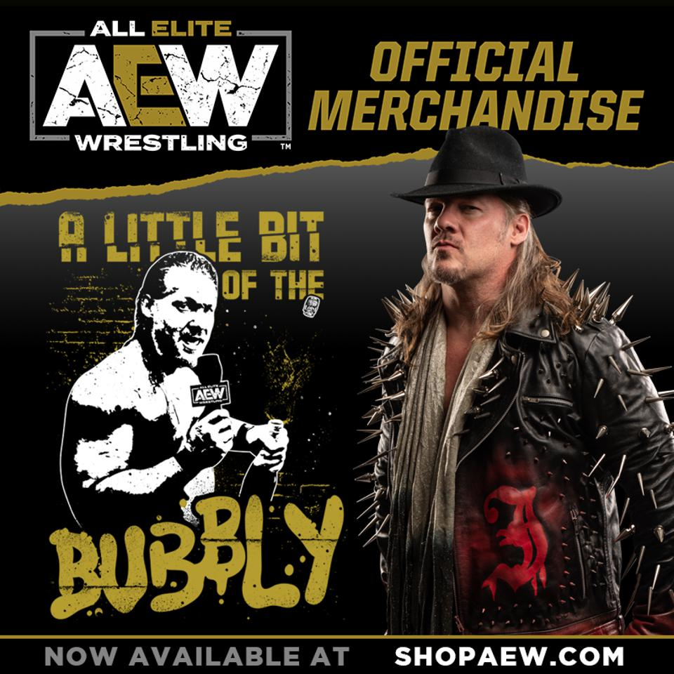 A Little bit of the bubbly Chris Jericho AEW All Elite Wrestling
