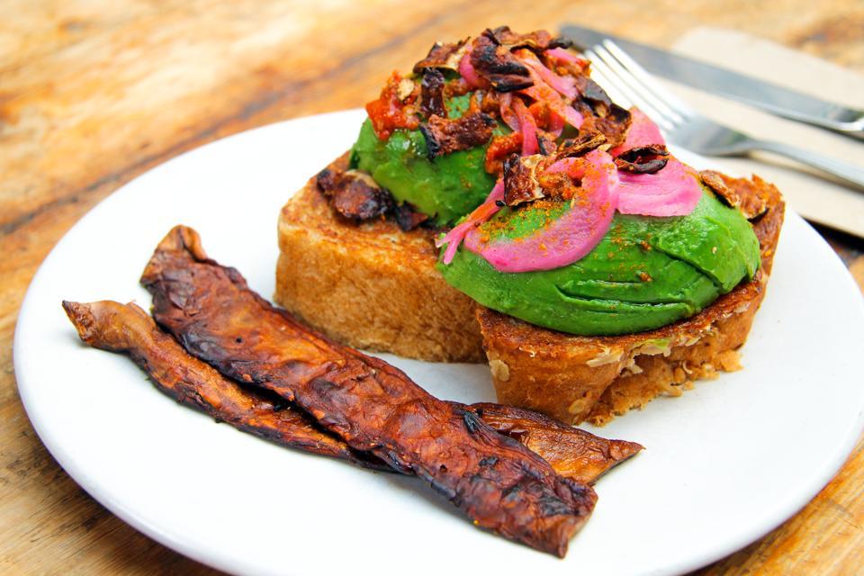 Ecovative, Atlast, food, mycelium, mushroom roots, bio-based, bacon, meat, Impossible Foods, Eben Bayer