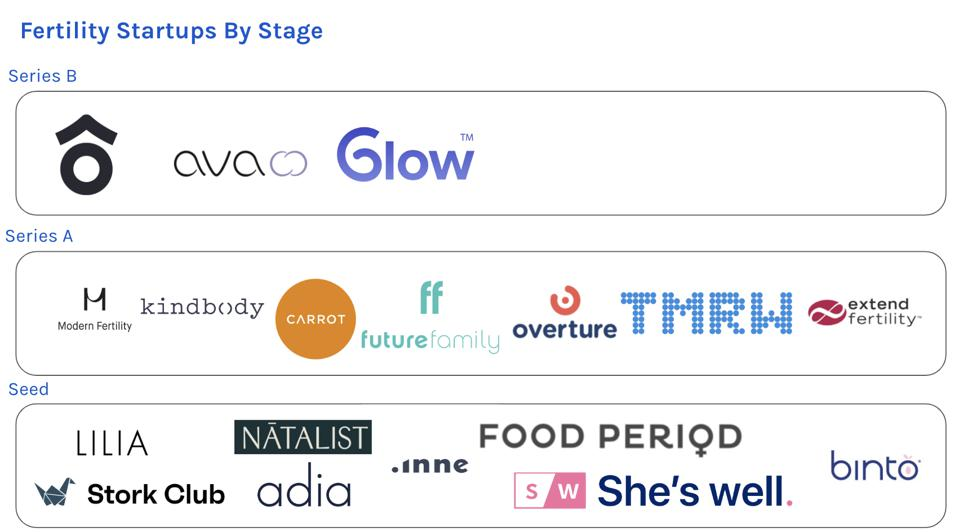 Fertility Startups By Stage