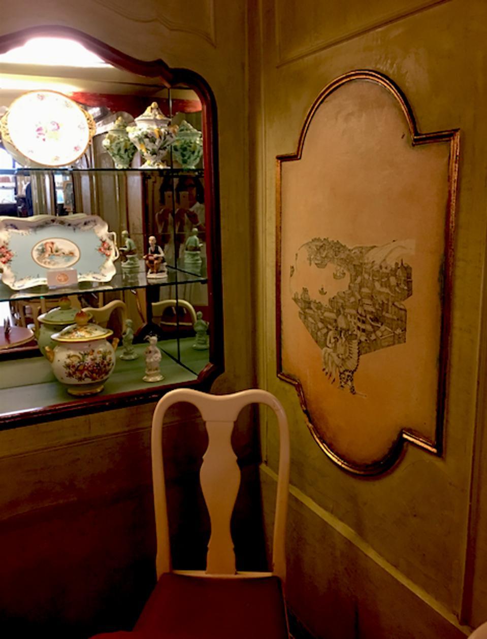 An interior vignette.