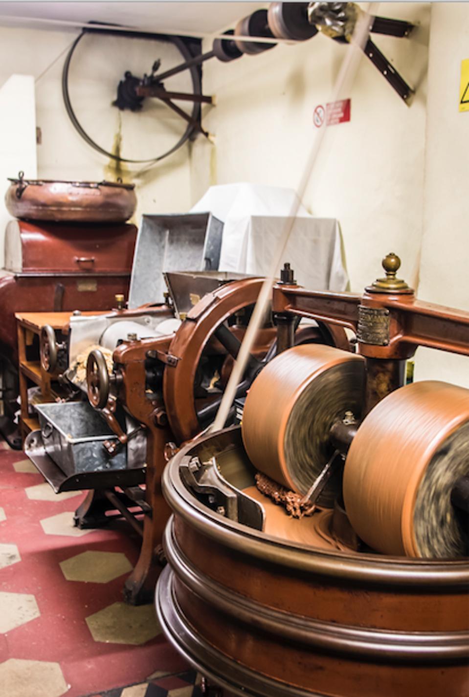 Vintage machinery.