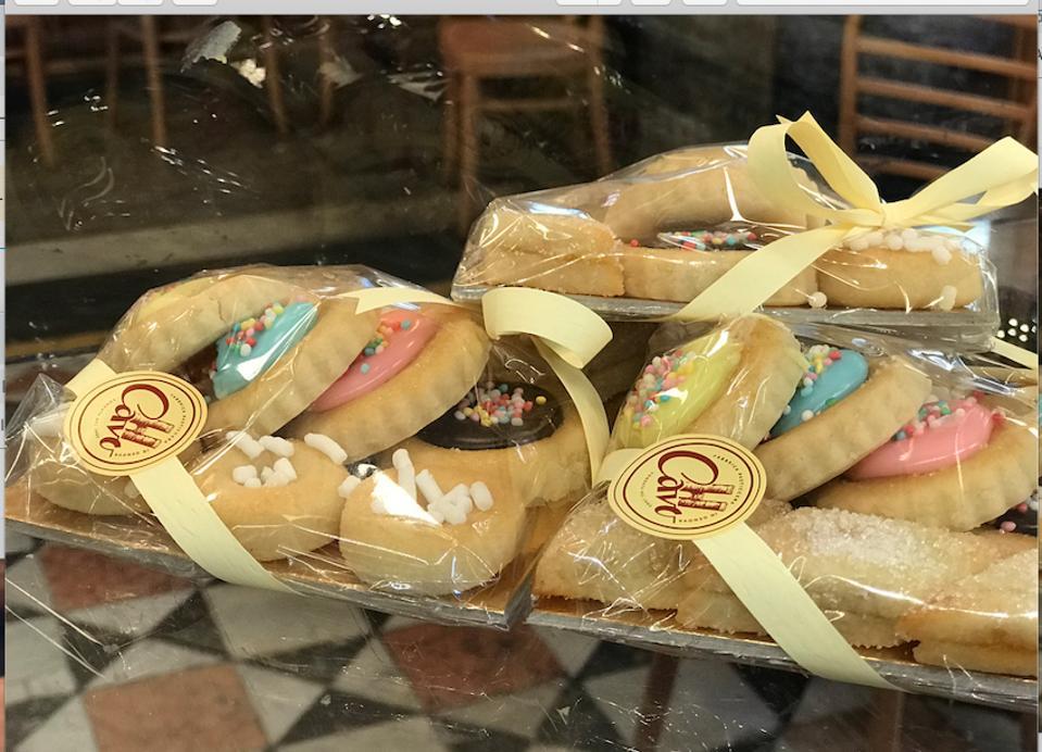 A cookie assortment