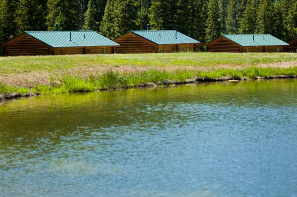 Pond and River Cabins at the 320 Guest Ranch