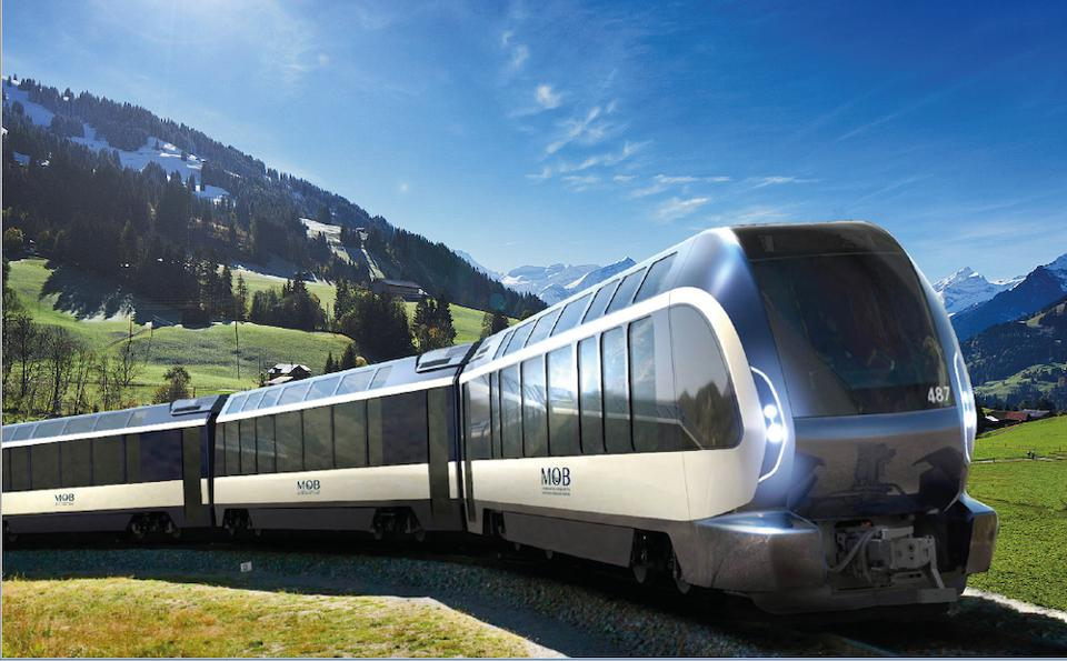 Pininfarina's Goldenpass Express Wonder Train Is Perfect For Exploring The Swiss Alps