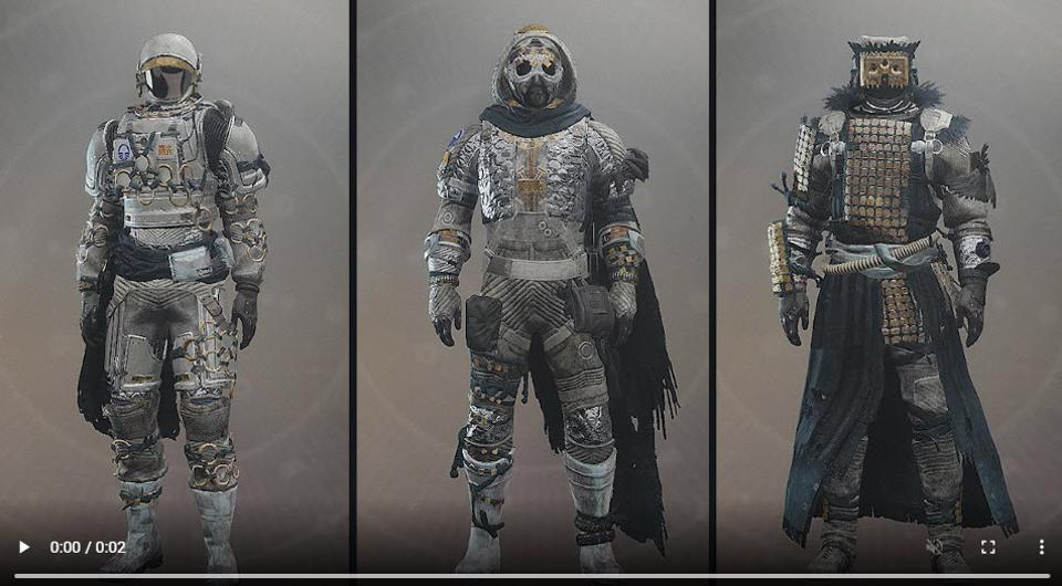 Destiny 2' Reveals All Its Shadowkeep Armor Sets And Their