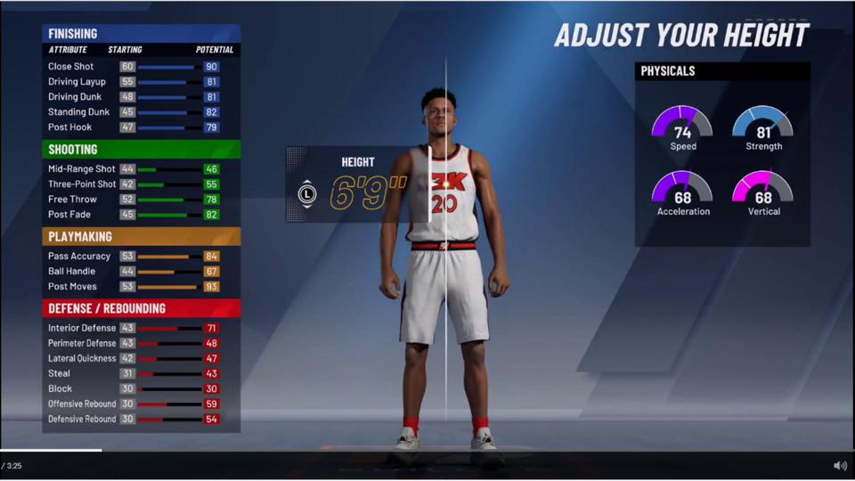 NBA 2K20' Tips: 5 Things You Should Know Before Creating