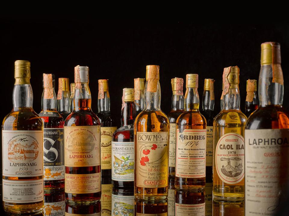 Sotheby's whisky.