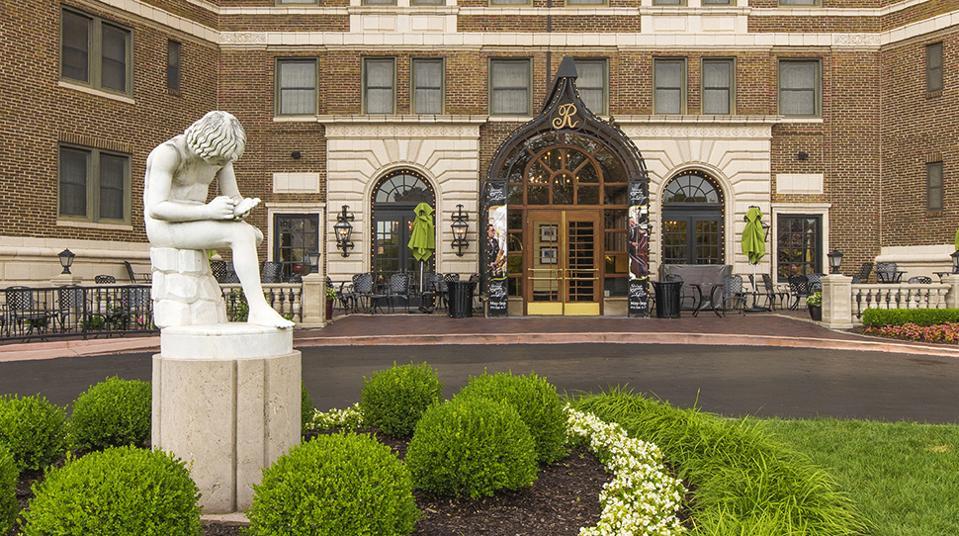L'hôtel Raphael
