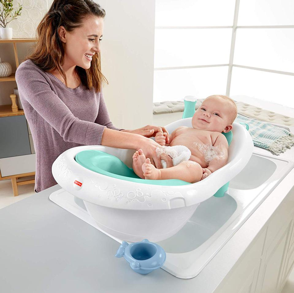 Fisher-Price 4-in-1 Sling 'n Seat Bath Tub