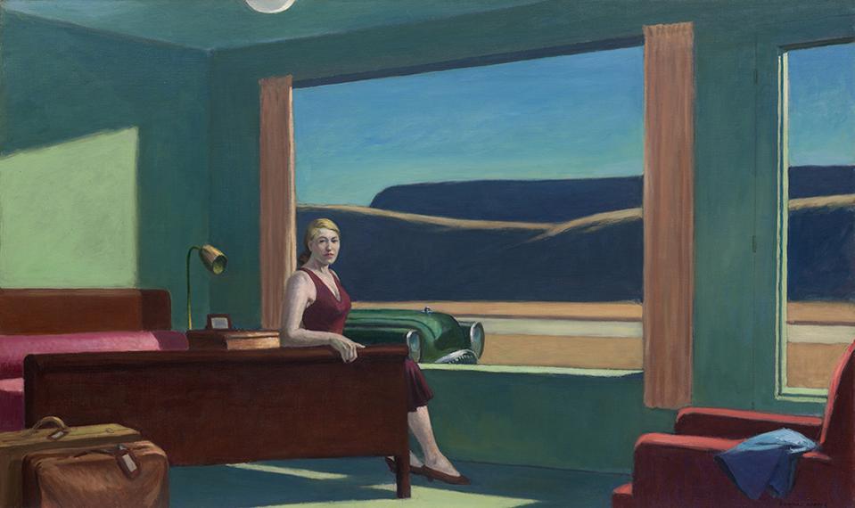 «Western Motel» d'Edward Hopper.
