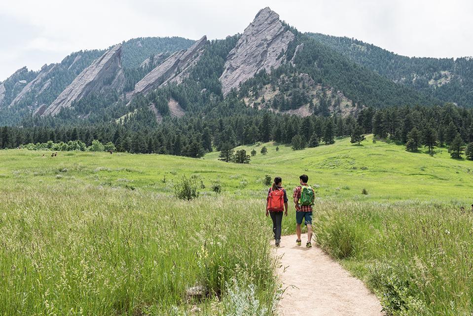 Randonnée à Boulder