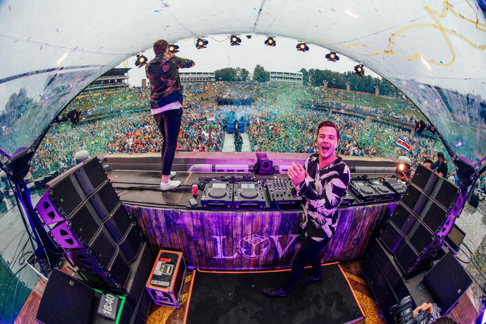 at Tomorrowland