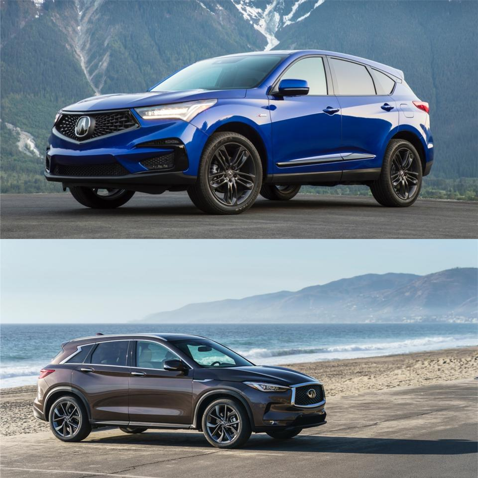 Acura RDX VS Infiniti QX50: A Tough Call To Make