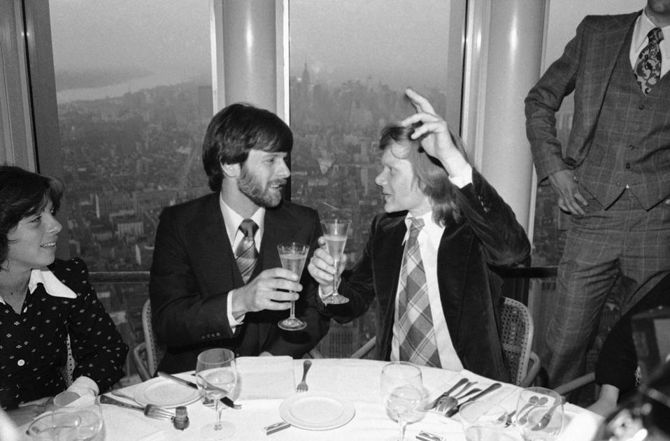 Philippe Petit, George Willig 1977