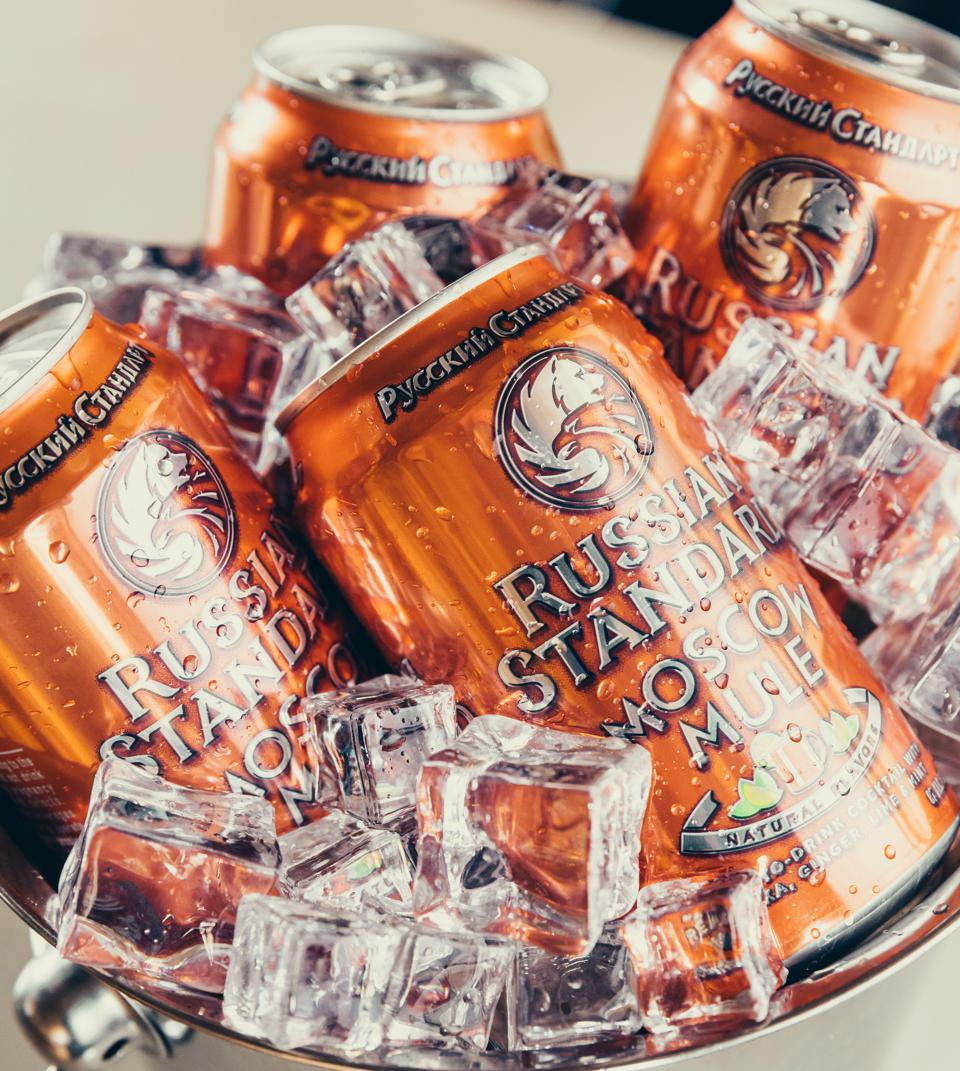 Russian Standard's canned Moscow Mule
