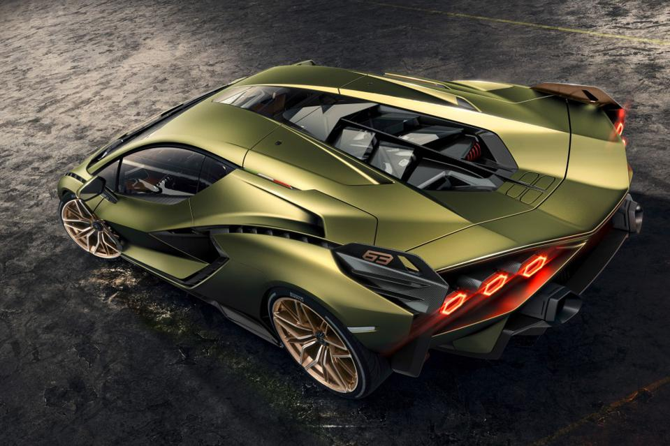 The Lamborghini Sián isn't coming to a showroom near you.