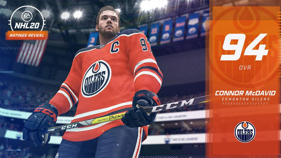 NHL 20' Release Date And Complete Player Ratings For Every Team