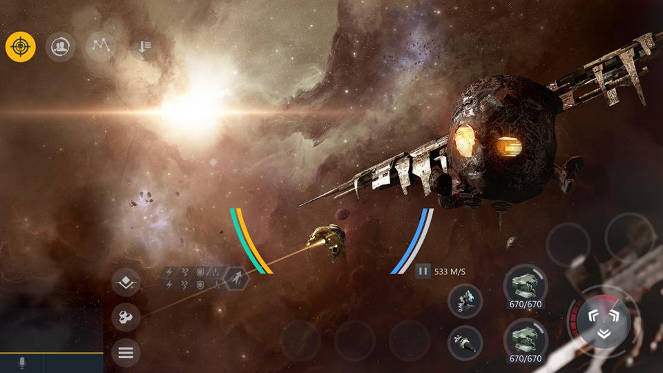 Gameplay screenshot of Second Galaxy from the game's Steam page.