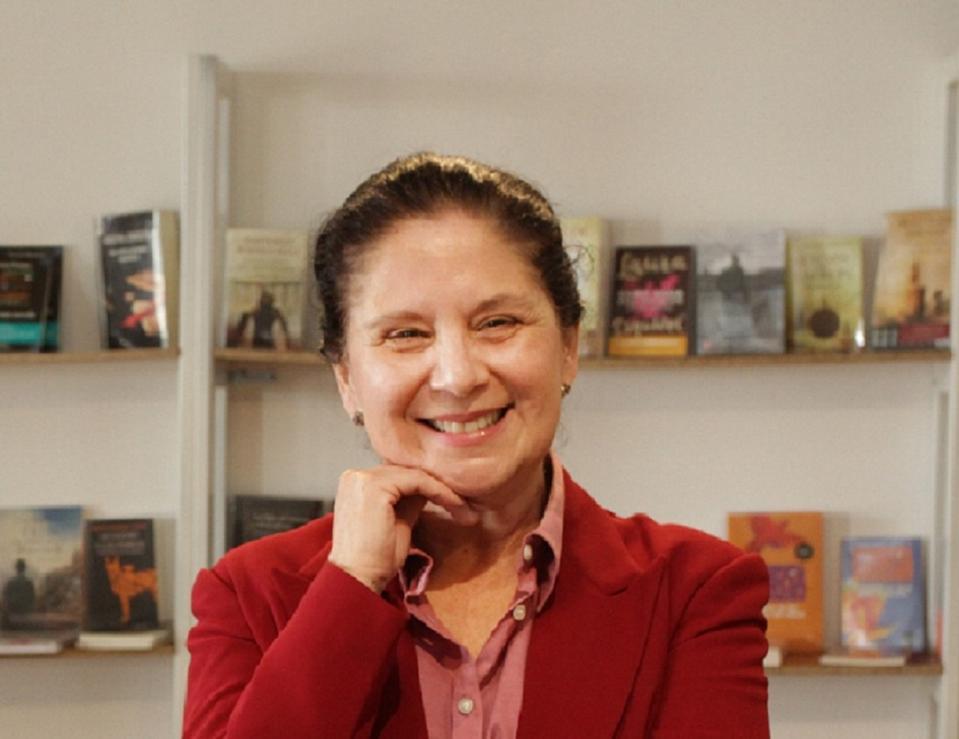 Photo of Maria Zaghi in Guatemala in 2017