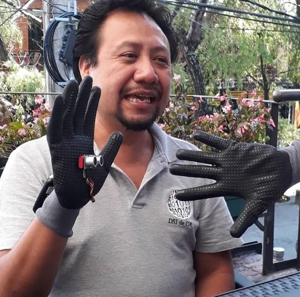 Angel Sarat and the Proximity Glove