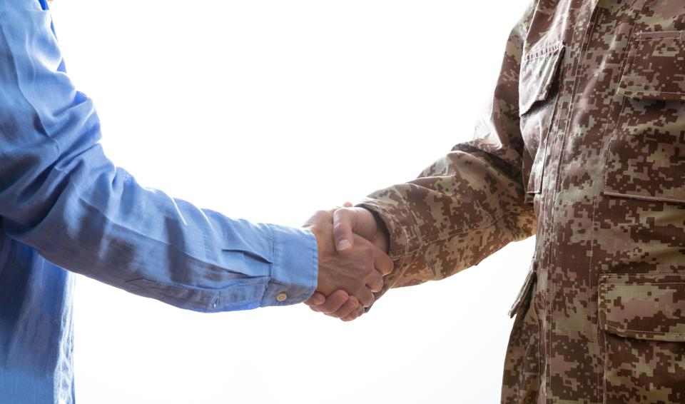 Military and business partnership