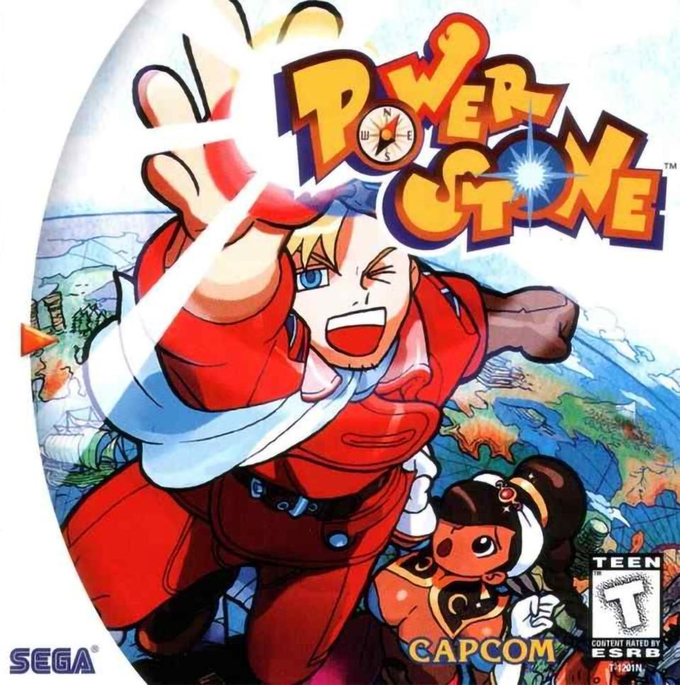 Power Stone cover art