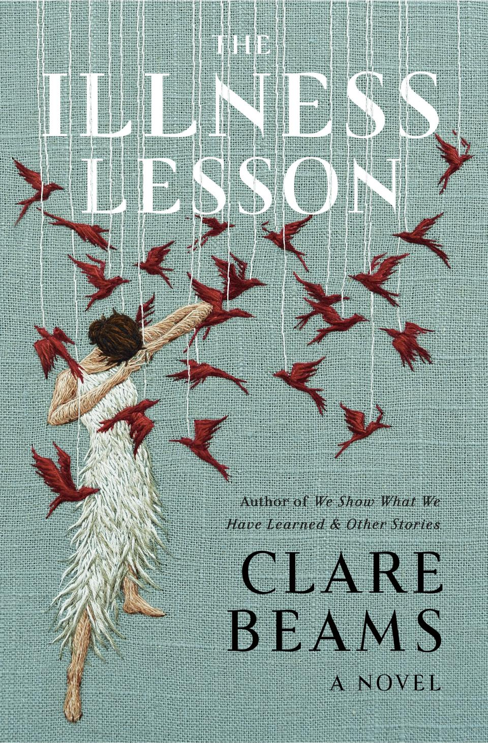 illness lesson clare beams book cover novel fiction doubleday books emily mahon